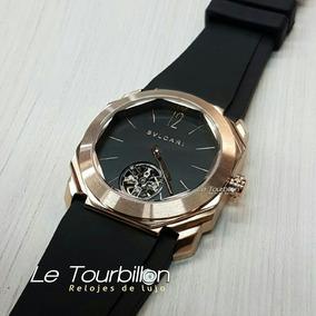 Reloj Bvlgari Octo Con Tourbillon Automático 40mm