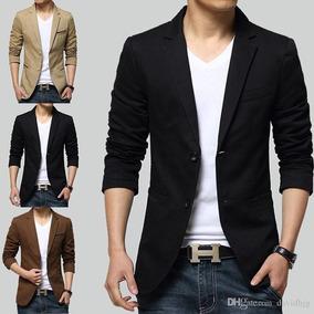 fefe31280 Saco Blazer Hombre Entallado Slim Fit Vestir Minimalstore.   1.980. Envío  gratis ...