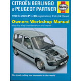 Manual De Taller Peugeot Partner Berlingo