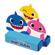 Caixa Para Bis Lembrancinha Baby Shark C/8 Unidades Oficial