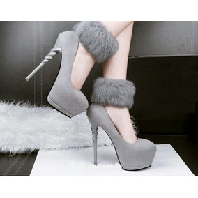 Sapato Salto Alto E Fino Importado ( Frete Grátis )