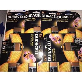 Pilas Duracell 9v Cuadrada 9 Voltios