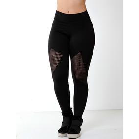 Calça Legging Suplex Academia Fitness Caminhada Monte Kit