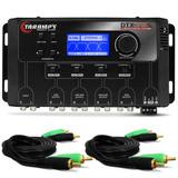 Crossover Taramps Dtx 2.4s 4 Vias Digital + 2 Cabos Rca 1m