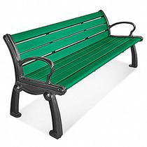 Banca De Alta Calidad Color Verde Para Hoteles O Plazas