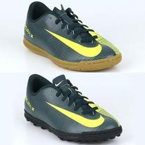 Zapatillas Nike Mercurialx Vortex Cr7 Niños T 35-38 Ndpj