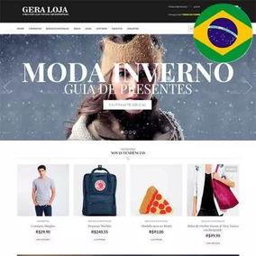 Tema Loja Virtual (pt_br) Gera Loja Woocommerce Wordpress