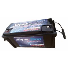 Bateria Gel 200 Ah Estacionária 12 V Energia Solar Som