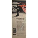 Publicidad Antigua Caja Fuerte Mosler 1954