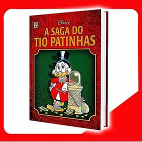 A Saga Tio Patinhas Capa Dura Hq Ed Luxo Abril Livro Lacrado
