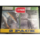 Metal Gear Rising Y Tomb Raider Nuevo Sellado 2pack Xbox 360