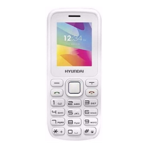 Hyundai D245 Dual SIM 32 MB blanco 24 MB RAM