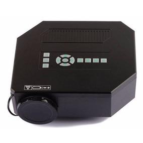 Mini Projetor Portátil Led Uc30 Transmissão Imagens Vídeo