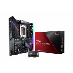Tarjeta Madre Asus Rog Zenith Extreme Tr4 Ddr4 Amd X399 Eatx