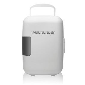 Mini Geladeira Portátil Branca 12v Tv009 4l 110v Multilaser