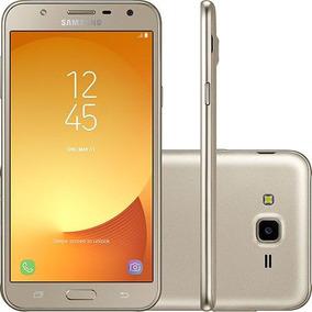 Celular Samsung J701mt J7 Neo Dourado Octa-core 1.6 Ghz 16gb