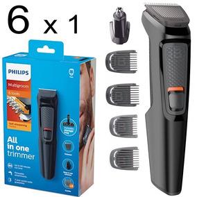 Barbeador Eletrico Maquina Philips 6 Em 1 Multigroom
