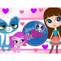Kit Imprimible Littlest Pet Shop Incluye Candy Bar