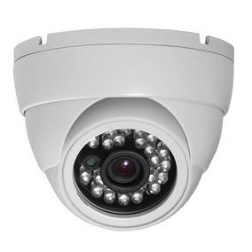 Camera Branca Dome 1000linhas Ir Sensor Sony Veja Video !