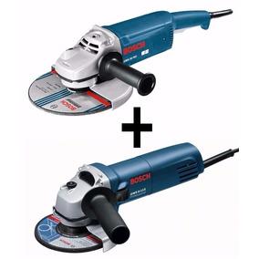 Combo Amoladora Angular Bosch Gws 20-180 + Gws 6-115-