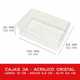 Cajas Plasticas Para Tarjetas Personales 3a