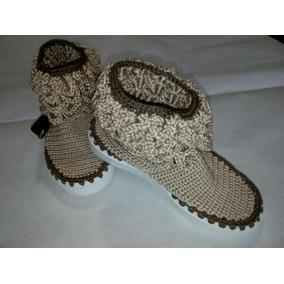 Zapatos Y Botas Tejidas