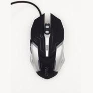 Mouse Gamer 6 Botones 2400dpi Led Black Inferno Njoytech