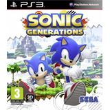 Sonic Generations Ps3 Digital Juego Ps3 Para Chicos Chokobo