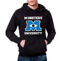 Sudadera Gorro Hombre Monsters University Monster Inc.