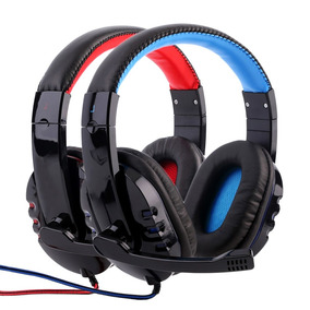 Headphone Gamer Bass C/ Fio Corda Microfone Alpha 1804
