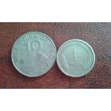 !!!! !monedas 1969 Y 1974 !!!!!!!!