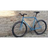Bicicleta Paseo Fixie Urbana Vintage Carrera