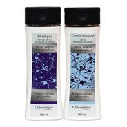 Shampoo E Condicionador Cabelo Seco Crespo Opaco Quebradiço