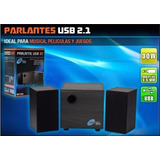 Parlantes Home Theater 2.1