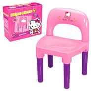 Cadeira Cadeirinha Desmontável Hello Kitty Infantil Criança