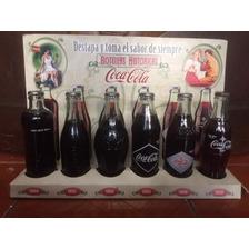 Botellas De Coca Cola Historicas Coleccionables 80 Años Ecua