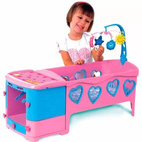 Bercinho Infantil Brinquedo Com Acessórios