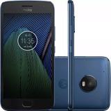 Moto G5 Xt1683 Plus Celular Dual Chip Android7.0 32gb Azul