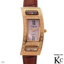 Reloj Techno Com Con Diamantes Original Para Dama