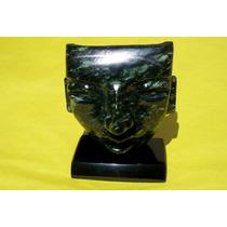 Replica Mascara Mortuoria Teotihuacana En Jade 109
