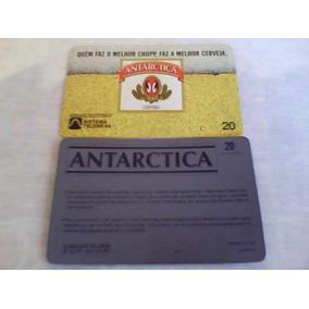 531 - Cartão Telebrás Antarctica - 20 Un - Tir. 100.000