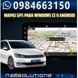 Tarjeta Gps Mapas De Ecuador Para Radios Chinos Windows Ce