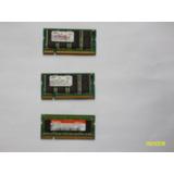 3 Memorias Ram Ddr1 256 Mb Para Laptop A Solo $10 C/u