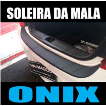 Soleira Da Mala Protetora Do Para-choque Chevrolet Onix