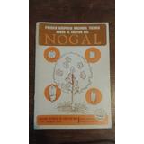 Libro Nogal. Año 1974.