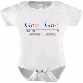 Body Baby Infantil Google Goo Goo Da Da Engraçada Swbd-0005