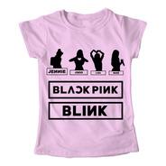 Blusa K-pop Pink Regalo Dama Playera