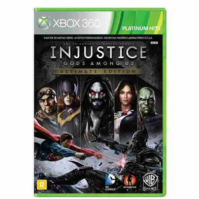 Injustice Gods Among Us Ultimate Edition - Xbox 360 Pt-br
