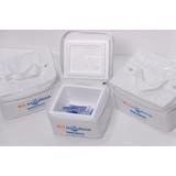 Kit Caixa Isopor Para Transporte De Insulina Pequena 250ml