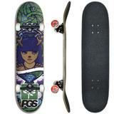 Skate Profissional Original Barato Pgs Rolamento Abec 15